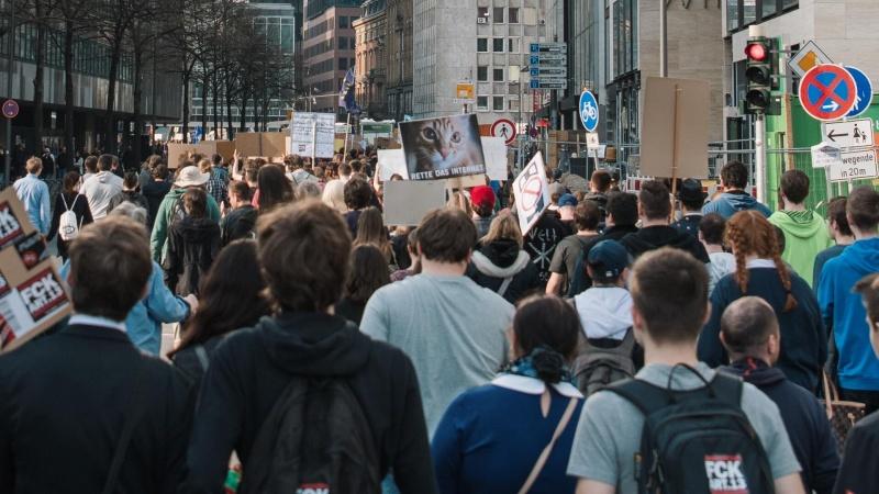 Berlyne gegužės 1-ąją planuojamos tūkstantinės demonstracijos